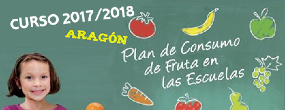 Resultado de imagen de plan fruta escolar aragon